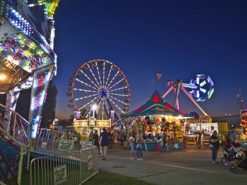 Attractions de la fête foraine Ozark Empire Fair