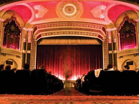 L'Oriental Theater, le site du Milwaukee Film Festival