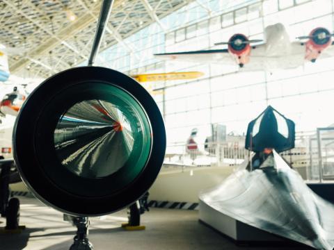 Le Museum of Flight qui participe au mois des musées de Seattle