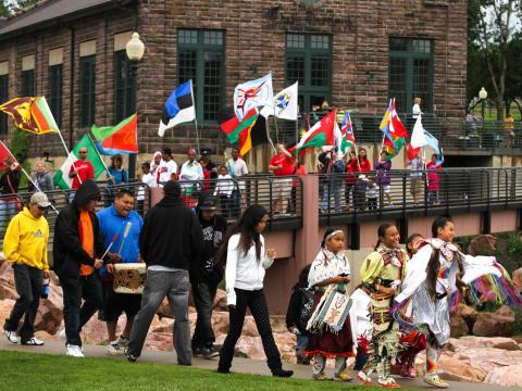 Cette fête célébrant les cultures du monde est un vrai régal pour les yeux, les oreilles et les papilles
