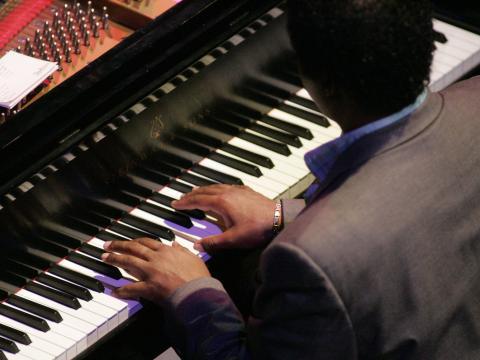 Pianiste participant au Gilmore International Keyboard Festival