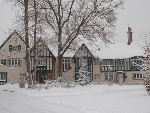 Kellogg Manor House est prêt pour la saison des fêtes
