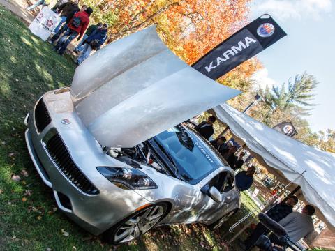 Découvrez les dernières voitures et technologies au salon international de l'automobile de Northwood