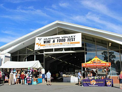 L'entrée alléchante du festival du vin et de la gastronomie de la Hudson Valley