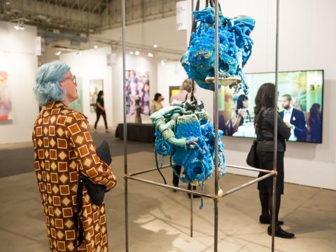 Expo Chicago: expositions dans les galeries de la jetée de Navy Pier pour inaugurer la session artistique d'automne