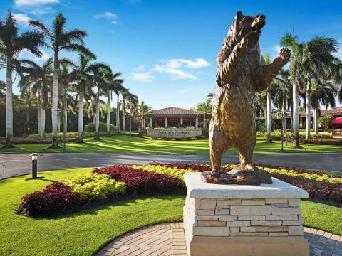 Le PGA National Golf Club, parcours où se déroule le tournoi de golf Honda Classic, à Palm Beach Gardens, en Floride