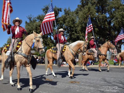 La Pioneer Day Parade à Paso Robles, Californie