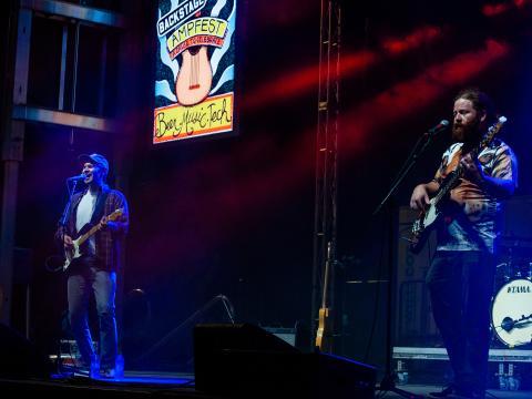 Concert pendant l'AMP Fest au WalmartAMP (Arkansas Music Pavilion) à Rogers